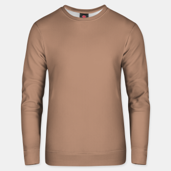 Thumbnail image of Pantone Tawny Birch pure clear beige cacao brown tone colour Autumn/Winter 2020/2021 London Unisex sweater, Live Heroes