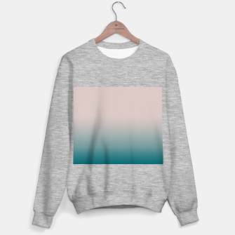 Smooth gradient neutral colors fashion simple color beige blue background Sweater regular thumbnail image