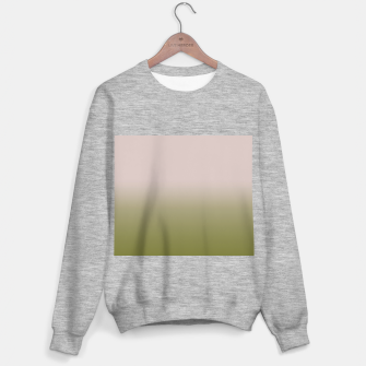 Thumbnail image of Smooth gradient neutral colors fashion simple color beige green background Sweater regular, Live Heroes