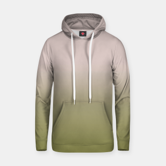 Thumbnail image of Smooth gradient neutral colors fashion simple color beige green background Hoodie, Live Heroes