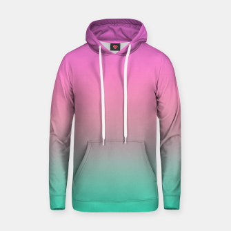 Thumbnail image of Smooth gradient summer colors fashion simple color pink blue background Hoodie, Live Heroes