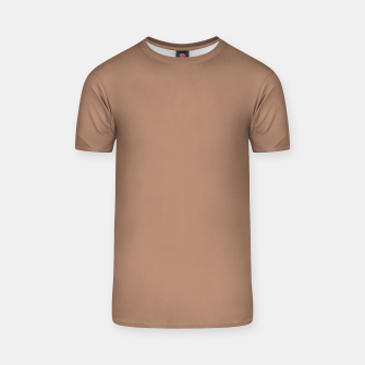 Thumbnail image of Pantone Tawny Birch pure clear beige cacao brown tone colour Autumn/Winter 2020/2021 London T-shirt, Live Heroes