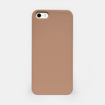 Thumbnail image of Pantone Tawny Birch pure clear beige cacao brown tone colour Autumn/Winter 2020/2021 London iPhone Case, Live Heroes
