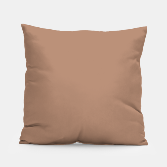 Thumbnail image of Pantone Tawny Birch pure clear beige cacao brown tone colour Autumn/Winter 2020/2021 London Pillow, Live Heroes