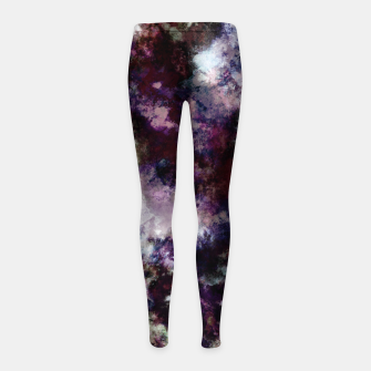 Thumbnail image of Lost in thought Girl's leggings, Live Heroes