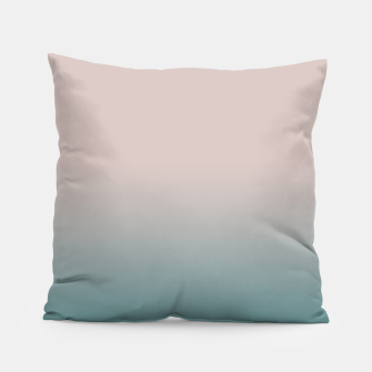 Miniature de image de Smooth gradient neutral colors fashion simple color beige blue background Pillow, Live Heroes