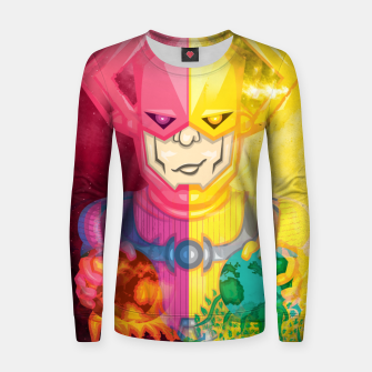 Thumbnail image of Galactus Destroyer of Worlds / Lifebringer Women sweater, Live Heroes