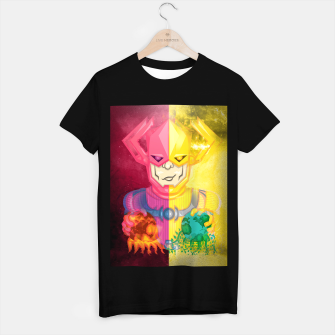 Thumbnail image of Galactus Destroyer of Worlds / Lifebringer T-shirt regular, Live Heroes