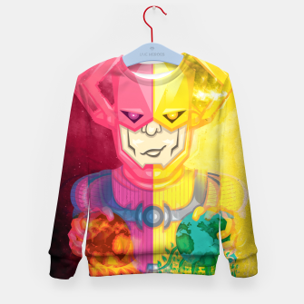 Thumbnail image of Galactus Destroyer of Worlds / Lifebringer Kid's sweater, Live Heroes
