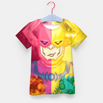 Thumbnail image of Galactus Destroyer of Worlds / Lifebringer Kid's t-shirt, Live Heroes