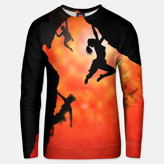 Thumbnail image of Rock climbing in the sun sweater, Live Heroes