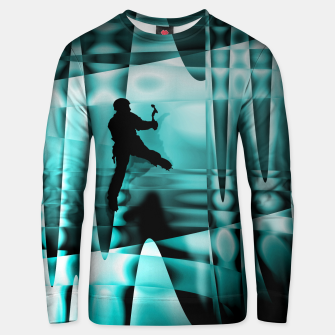 Thumbnail image of Climbing the frozen waterfall sweater, Live Heroes