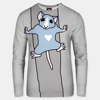 Thumbnail image of Offwidth climber rat sweater, Live Heroes