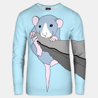Thumbnail image of Rat bouldering - hanging on, sweater, Live Heroes