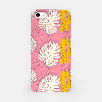 Thumbnail image of Tropical pink brush strokes Carcasa por Iphone, Live Heroes