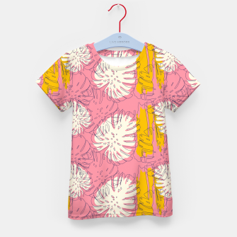 Thumbnail image of Tropical pink brush strokes Camiseta para niños, Live Heroes