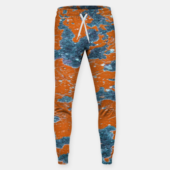 Miniatur Vivid Grunge Abstract Print Sweatpants, Live Heroes