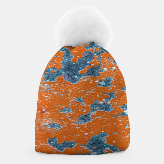 Thumbnail image of Vivid Grunge Abstract Print Beanie, Live Heroes