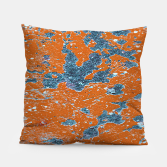 Miniatur Vivid Grunge Abstract Print Pillow, Live Heroes