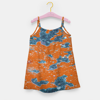 Miniatur Vivid Grunge Abstract Print Girl's dress, Live Heroes