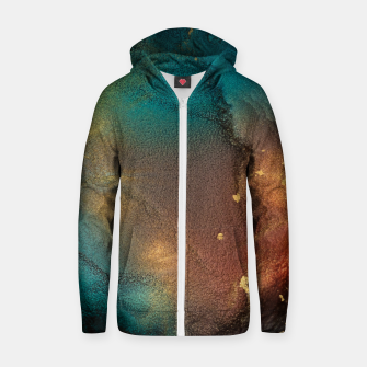 Thumbnail image of Surface of Life Zip up hoodie, Live Heroes