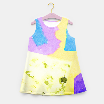 Miniatur Branches Girl's summer dress, Live Heroes