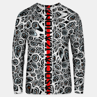 Thumbnail image of asocialization Unisex sweater, Live Heroes
