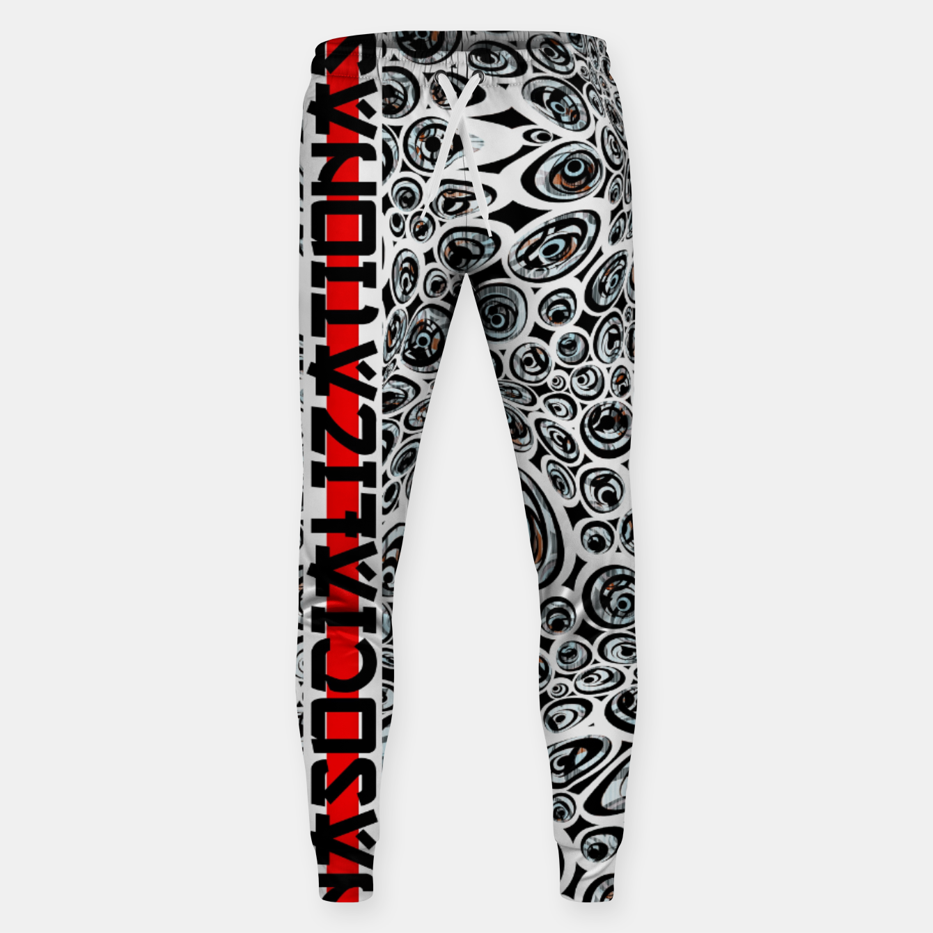 Image of asocialization Sweatpants - Live Heroes