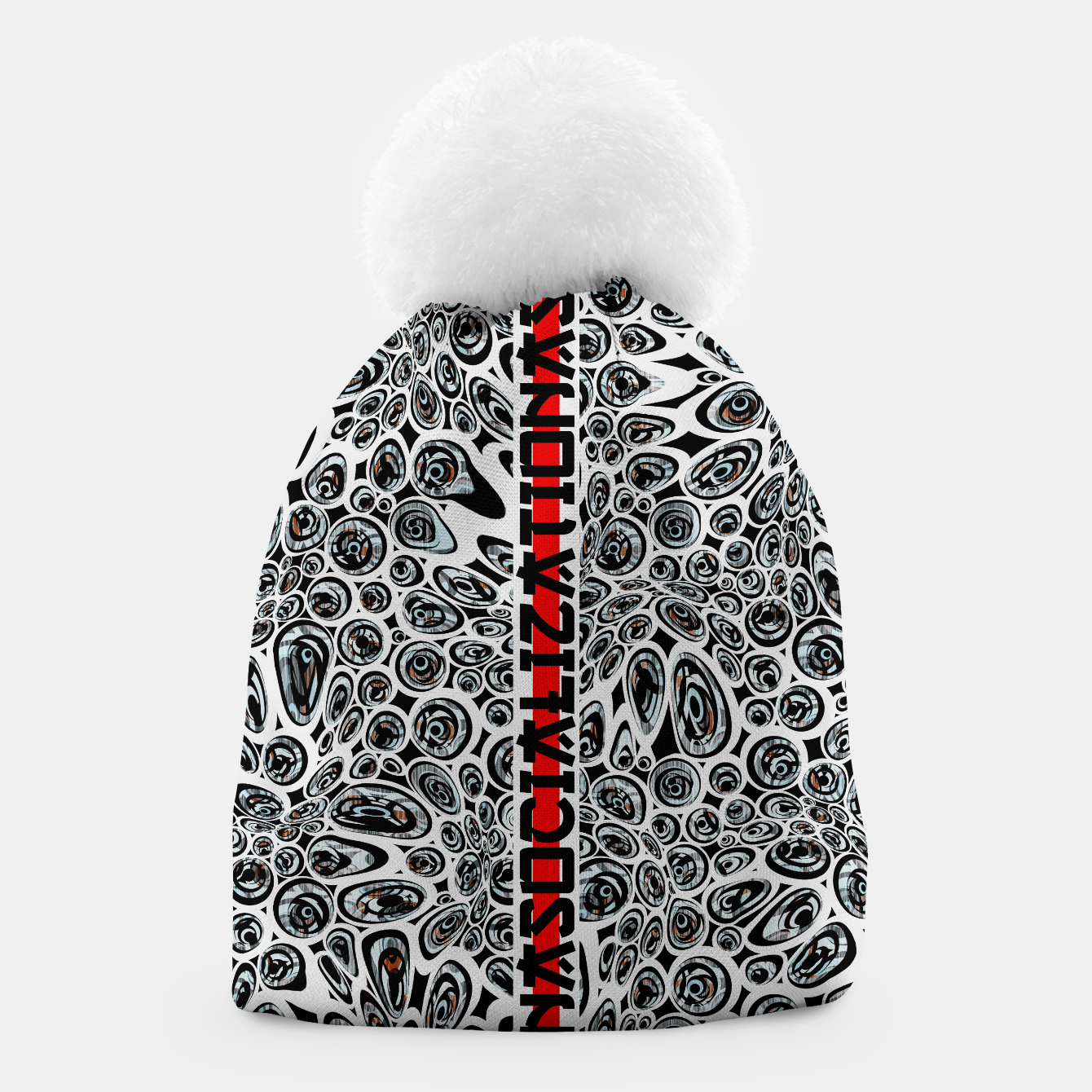 Image of asocialization Beanie - Live Heroes