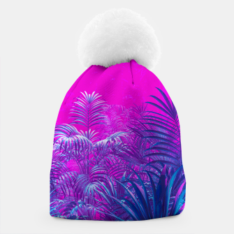 Thumbnail image of Neon Jungle Paradise Beanie, Live Heroes
