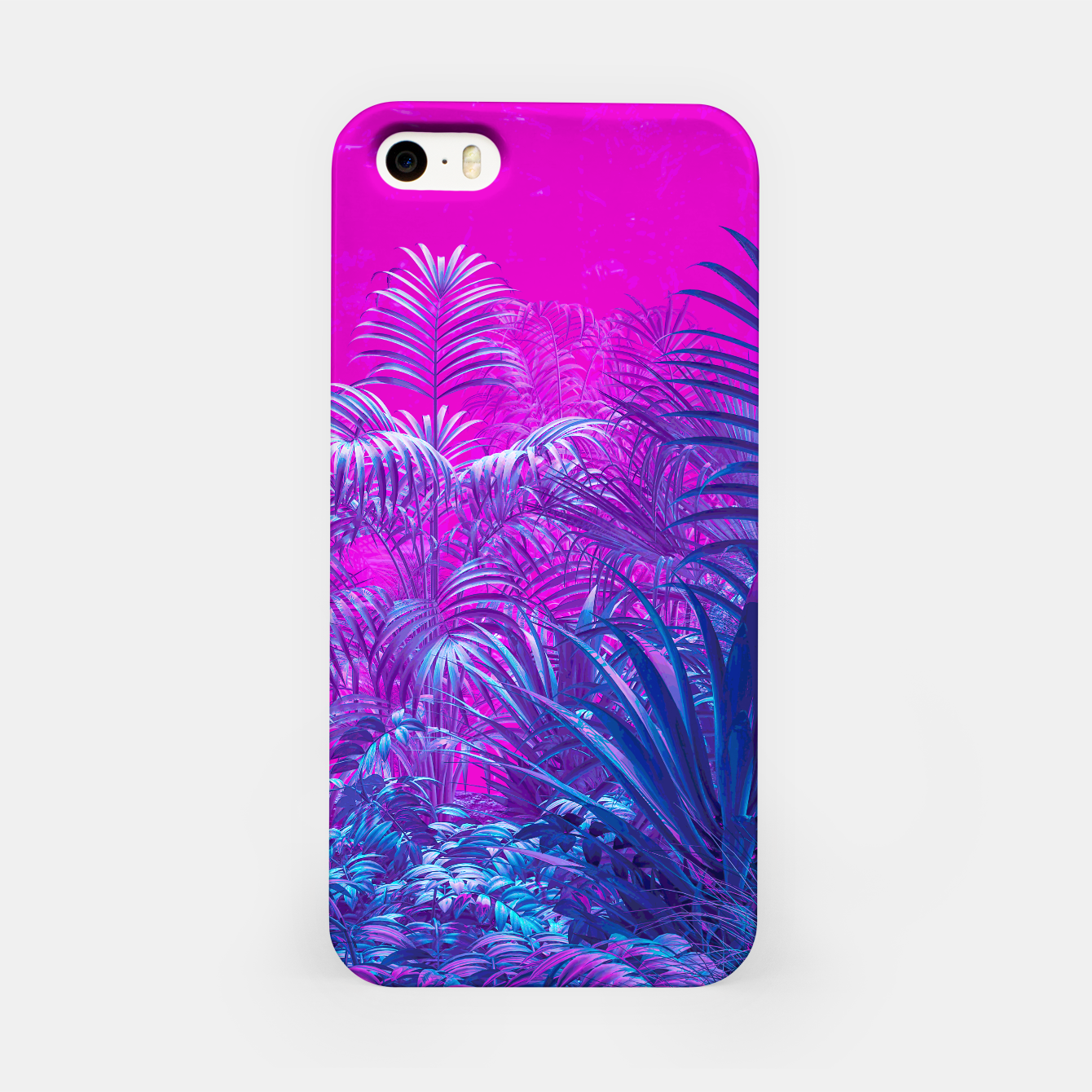 Image of Neon Jungle Paradise iPhone Case - Live Heroes