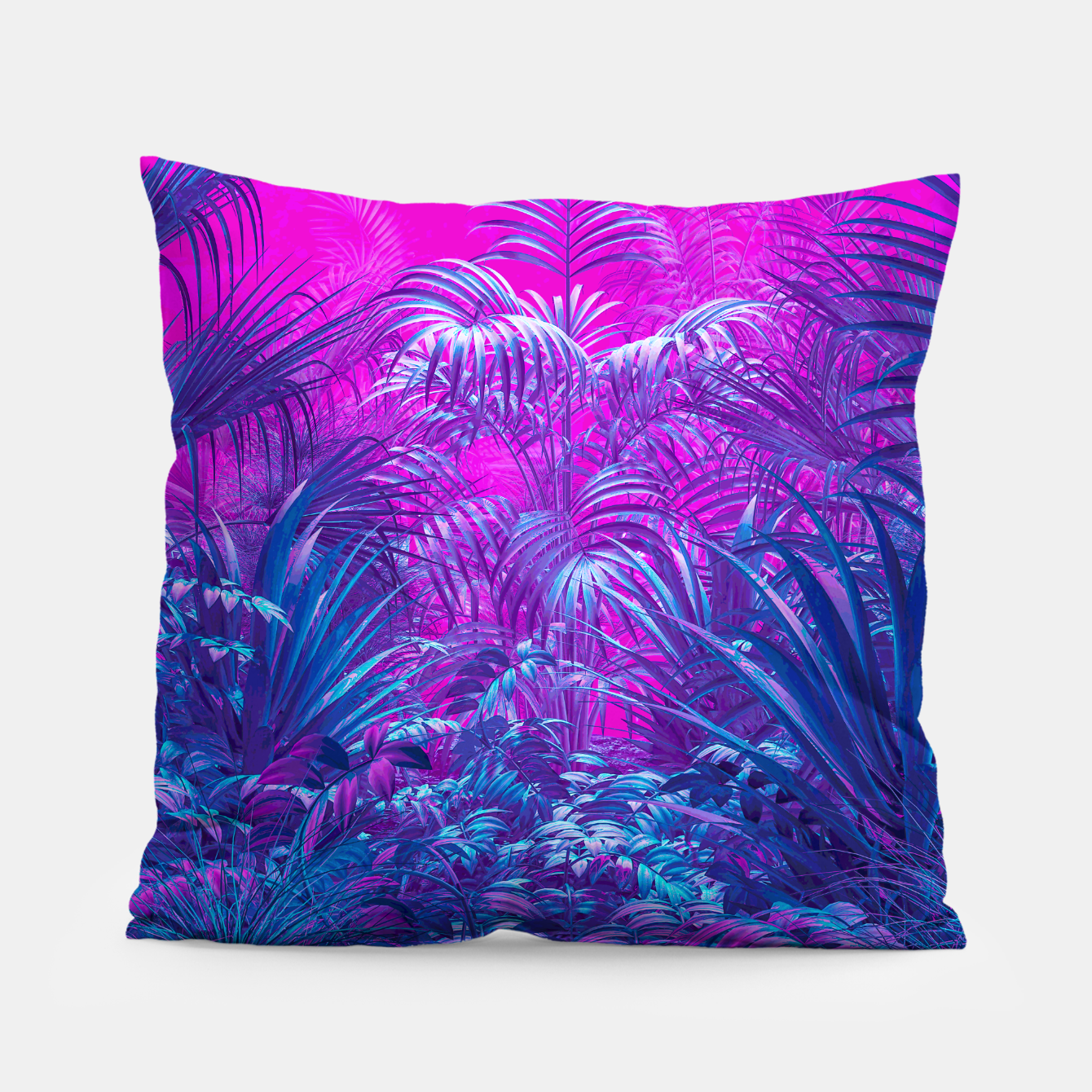 Image of Neon Jungle Paradise Pillow - Live Heroes