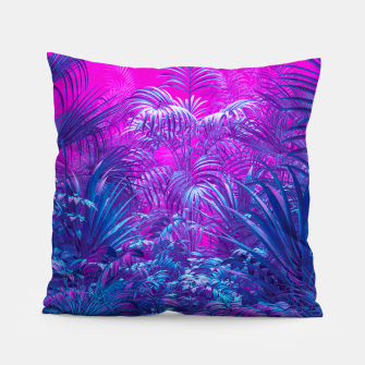 Thumbnail image of Neon Jungle Paradise Pillow, Live Heroes
