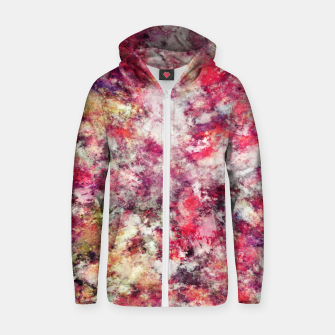 Thumbnail image of Rambling roses Zip up hoodie, Live Heroes