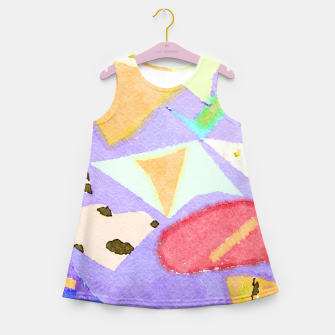 Miniaturka Wishful Thinking Girl's summer dress, Live Heroes