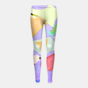 Miniaturka Wishful Thinking Girl's leggings, Live Heroes
