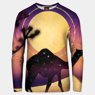 Thumbnail image of The Camel and the Joshua Tree Unisex sweater, Live Heroes