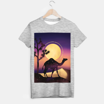 Thumbnail image of The Camel and the Joshua Tree T-shirt regular, Live Heroes