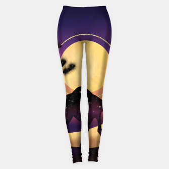 Thumbnail image of The Camel and the Joshua Tree Leggings, Live Heroes