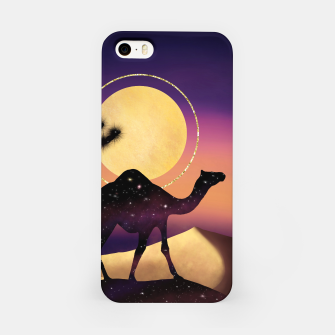 Thumbnail image of The Camel and the Joshua Tree iPhone Case, Live Heroes