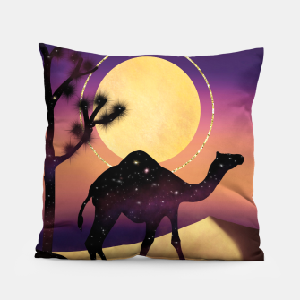 Thumbnail image of The Camel and the Joshua Tree Pillow, Live Heroes