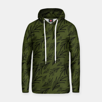 Thumbnail image of Feeling of lightness pattern III - Pine needle green Hoodie, Live Heroes