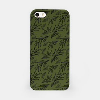 Thumbnail image of Feeling of lightness pattern III - Pine needle green iPhone Case, Live Heroes