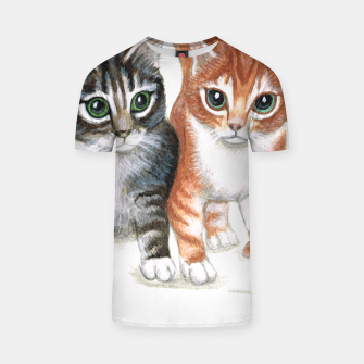 Thumbnail image of Cheeky kittens t shirt, Live Heroes