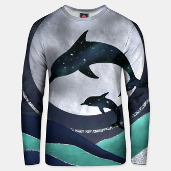 Thumbnail image of Night Swimming Unisex sweater, Live Heroes