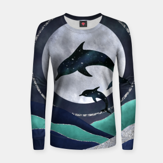 Thumbnail image of Night Swimming Women sweater, Live Heroes