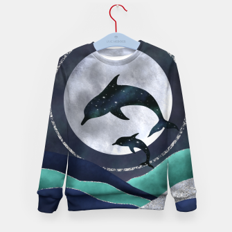 Thumbnail image of Night Swimming Kid's sweater, Live Heroes
