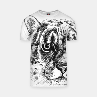 Thumbnail image of leopard t shirt, Live Heroes