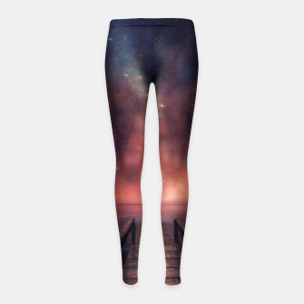 Thumbnail image of Just Be Girl's leggings, Live Heroes