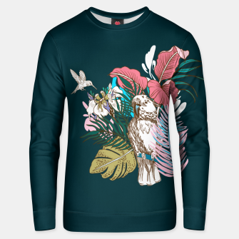 Thumbnail image of Birds jungle paradise Sudadera unisex, Live Heroes